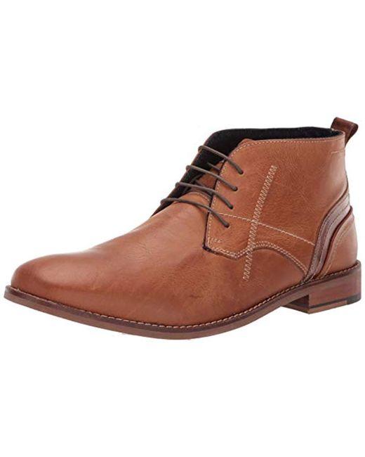 Steve Madden Brown Kurtis Ankle Boot for men