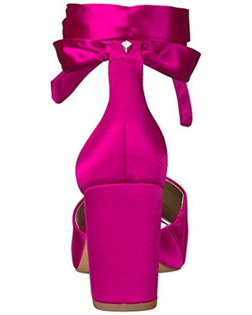 25fb87d597ed2e Lyst - Sam Edelman Odele Heeled Sandal in Pink - Save 30%