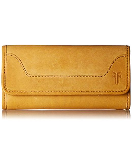 Frye - Multicolor Melissa Continental Snap Leather Wallet - Lyst