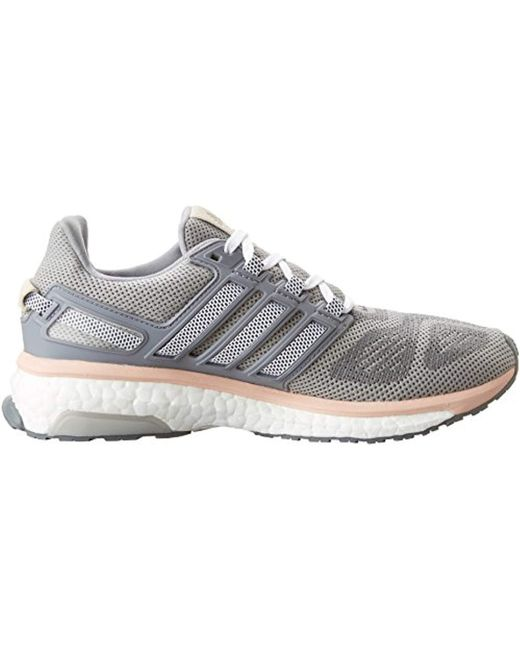the best attitude cab91 dd81a ... Adidas - Gray Energy Boost 3 Running Shoes, Lightweight, Comfortable  And Flexible Fit ...