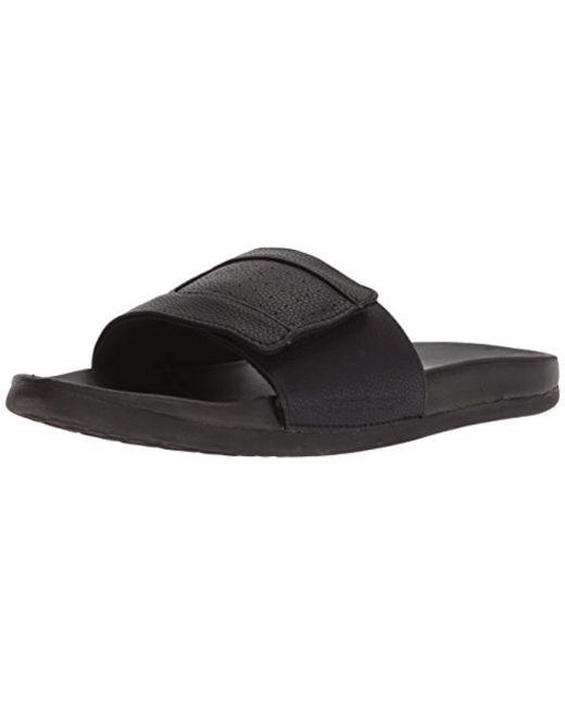 Skechers Black Sport Merklin Rosney Slide Sandal,, for men