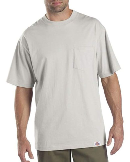 2168d4bd5ef0 Lyst - Dickies Big Short Sleeve Pocket T-shirt 2-pack in Gray for ...