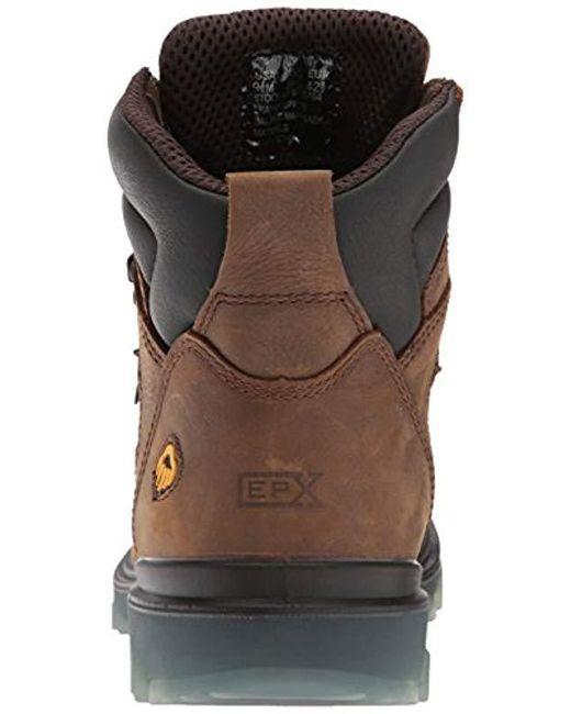 3e974cd3401 Men's Brown I-90 Waterproof Soft-toe 6