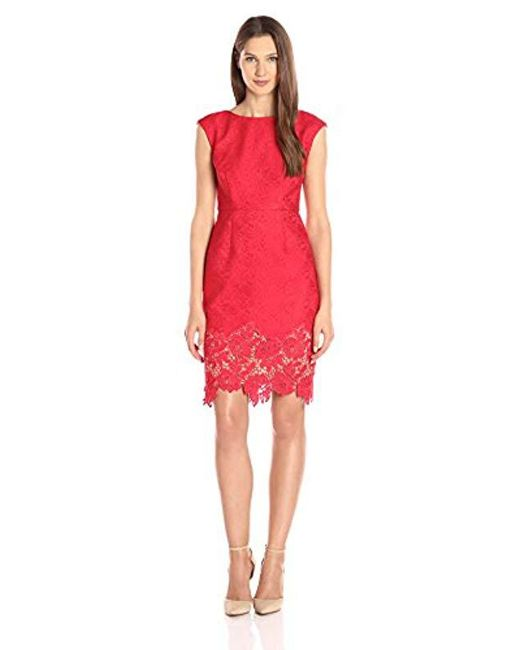 Plenty by Tracy Reese - Red Dresses Aviva - Lyst