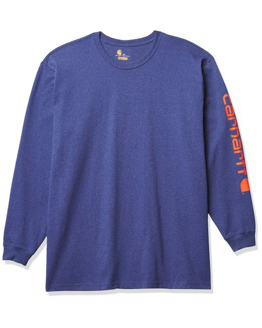 Carhartt Blue Long-sleeve for men