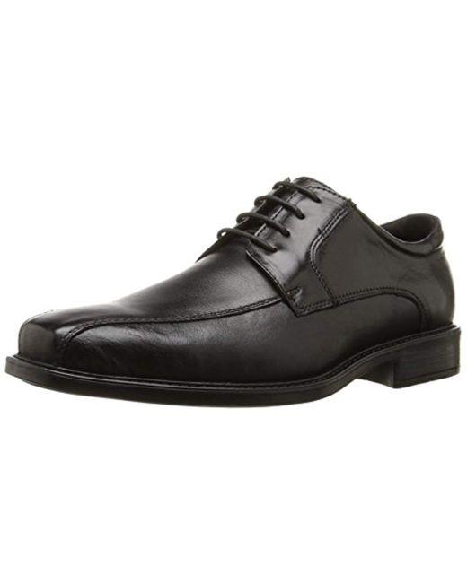 Steve Madden Black Awol Oxford Shoe for men