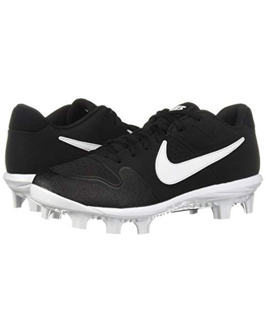 f632fd64f387c Men's Black Alpha Huarache Varsity Low Mcs Baseball Shoe