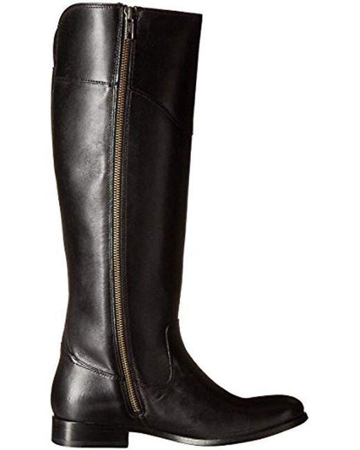 e0105bb9b70 Women's Black Melissa Tab Tall Riding Boot