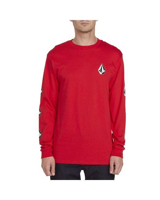 Volcom T-Shirt Volcom Deadly S//S T-Shirt White Volcom Mens