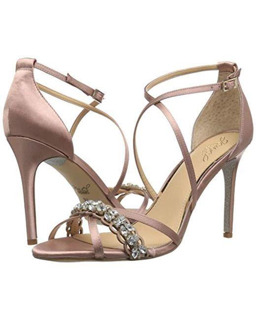988e308c0f5a Lyst - Badgley Mischka Gisele Heeled Sandal - Save 39.39393939393939%