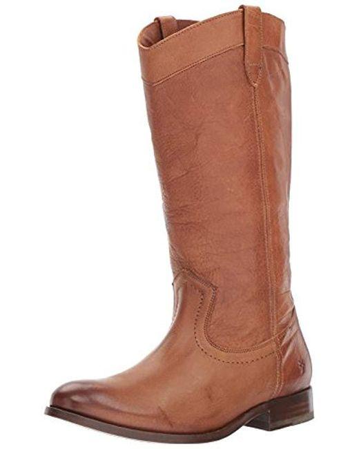 Frye - Brown Melissa Pull On Western Boot - Lyst