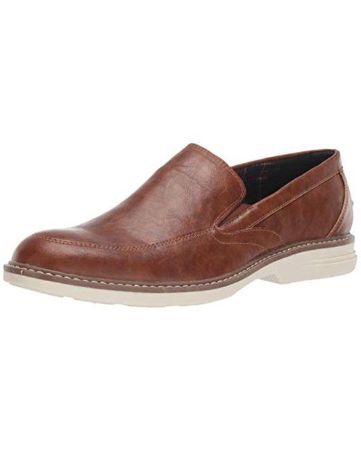 Ben Sherman Brown Countryside Slip On Loafer for men