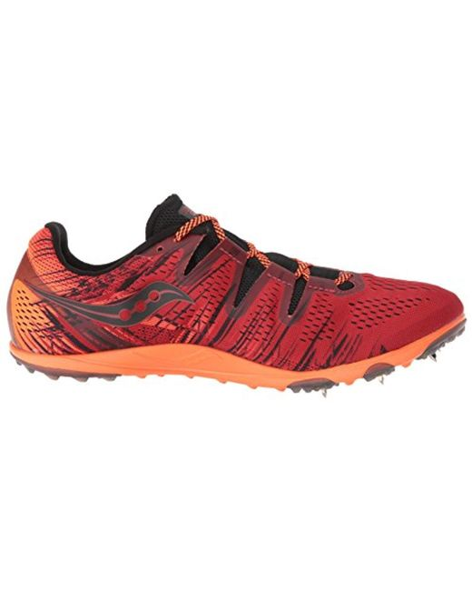 acda031c Lyst - Saucony Carrera Xc 3 Track Shoe in Red for Men