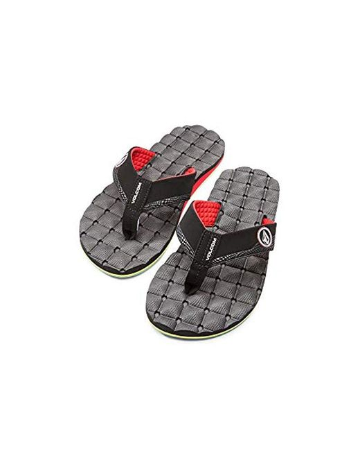Volcom - Multicolor 's Recliner Sandal Flip Flop for Men - Lyst