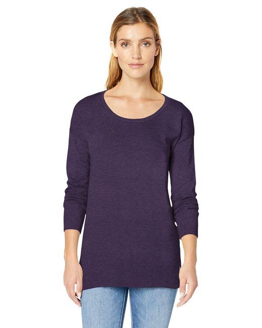 Scoopneck Tunic Cardigan di Amazon Essentials in Purple