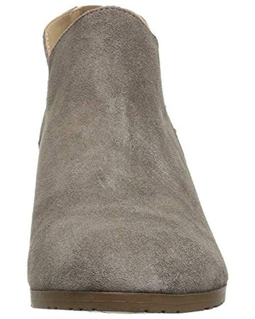 da899b6ac7d Women's Gray Side Way Low Heel Ankle Bootie Boot