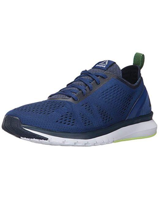 Reebok Blue Print Smooth Clip Ultk Running Shoe for men