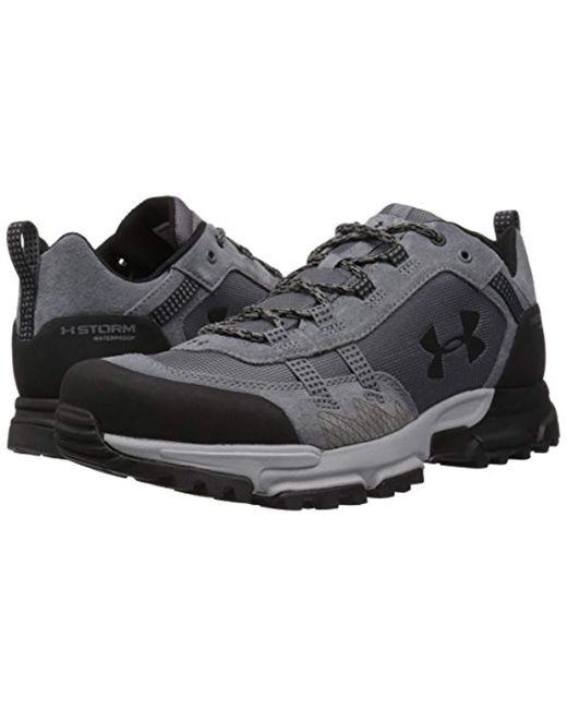 2c6997a2e6e Men's Post Canyon Low Waterproof Hiking Boot, Graphite (040)/overcast Gray,  8.5