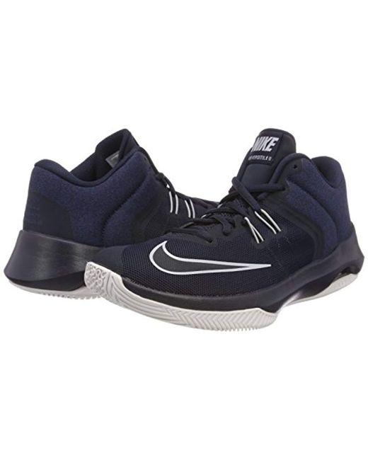 2e3275559cb Men's Gray Air Versitile Ii Basketball Shoes