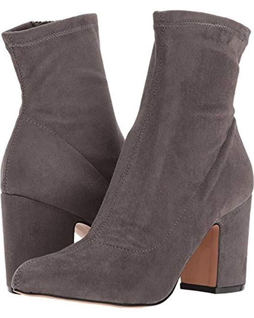 Steven by Steve Madden - Gray Lieve Ankle Boot - Lyst