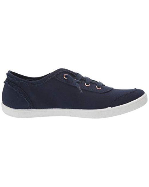 Blue Lyst In B Sneaker Skechers Bobs Canvas Cute LA54jq3R