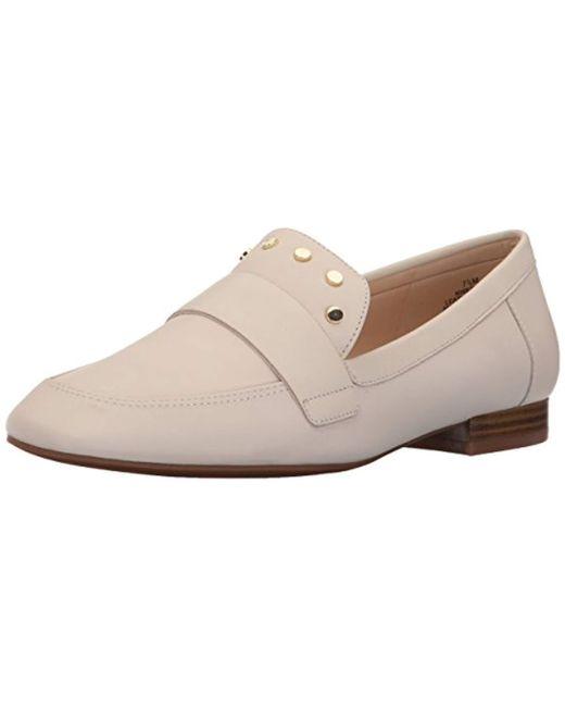 f44e4f72bda Nine West - Multicolor Ximon Leather Loafer Flat - Lyst ...