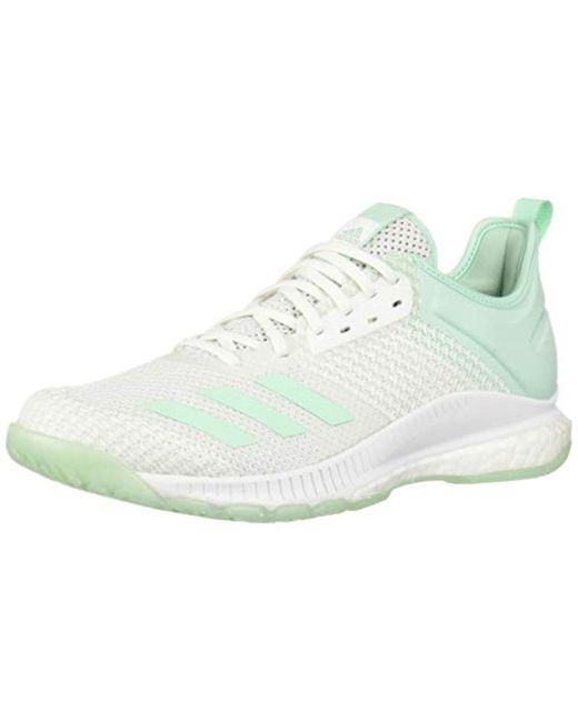 Adidas White Crazyflight X 3 Parley Volleyball Shoe