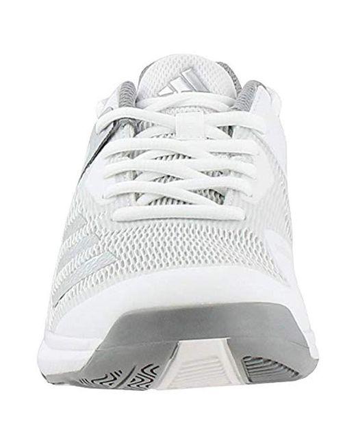 check out 01da8 8dc1d ... Adidas - Metallic Crazyflight Team Volleyball Shoe - Lyst ...