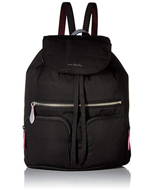 Vera Bradley - Black Midtown Cargo Backpack - Lyst