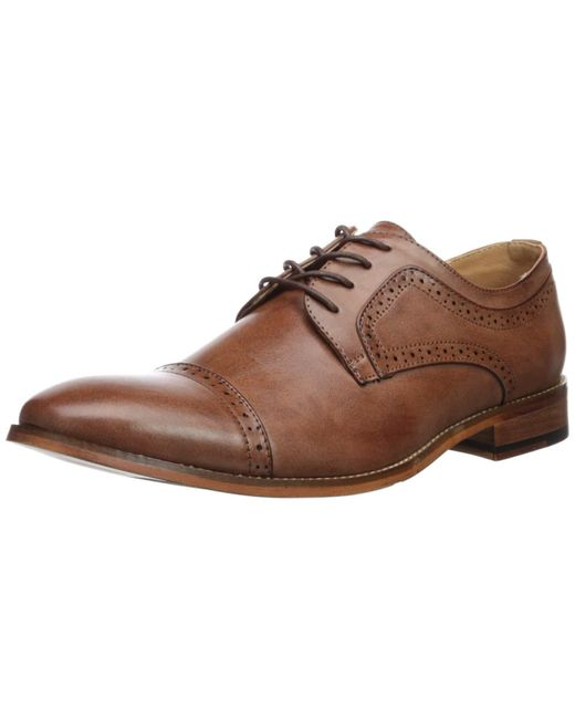 Kenneth Cole Brown Cheer Oxford for men
