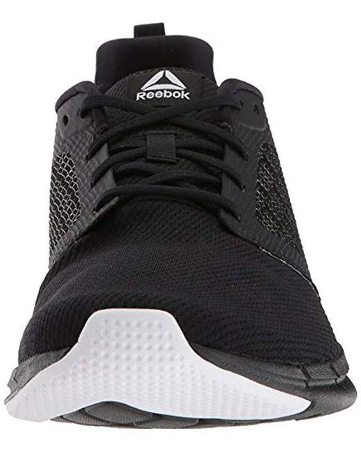 68a8328796 Men's Print Run 3.0 Shoe, Black/white, 7.5 M Us