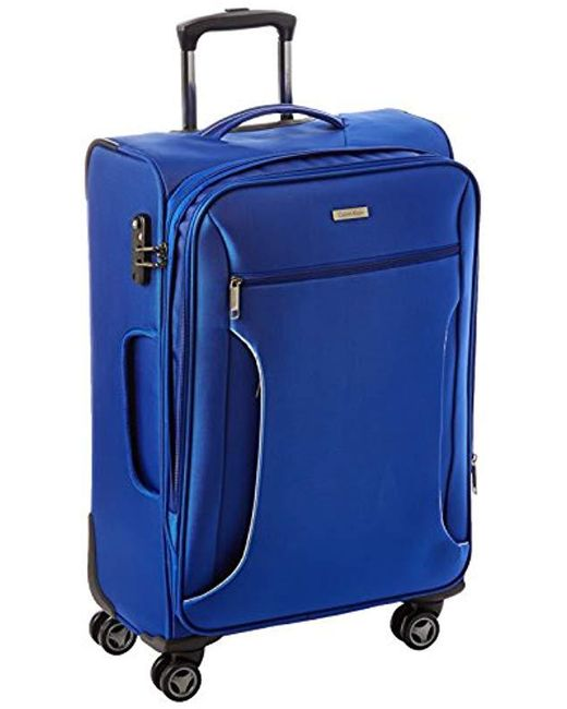 Calvin Klein - Blue Warwick 25 Inch Upright Suitcase for Men - Lyst