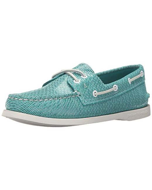 Sperry Top-Sider - Blue Top-sider A/o Two-eye Boat Shoe - Lyst