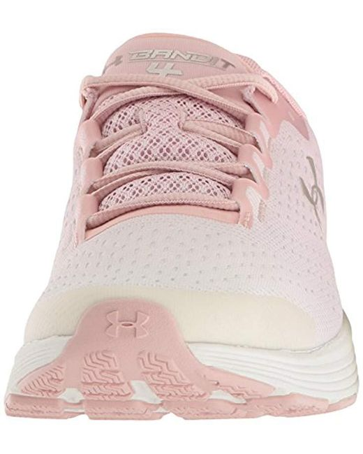 premium selection 28f55 9a16a Women's Pink Charged Bandit 4 Running Shoes