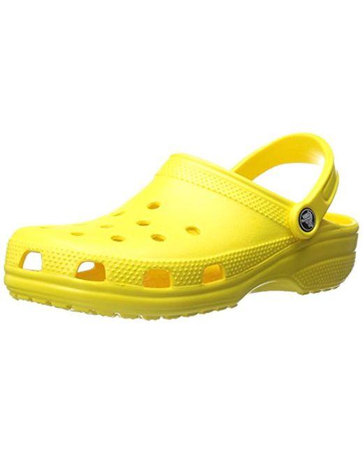 Crocs™ - Yellow Sandals - Lyst