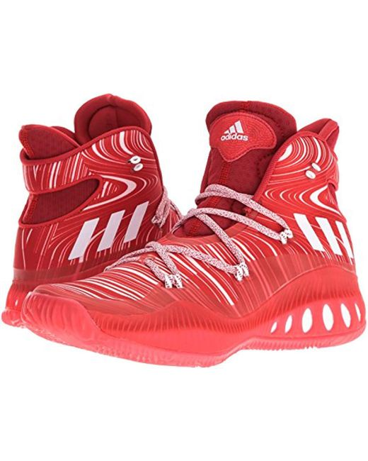 8e6de249ba37 ... Adidas - Red Performance Crazy Explosive Basketball Shoe for Men - Lyst  ...