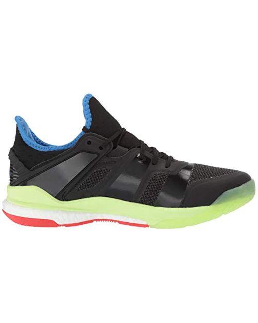 buy online ff321 42810 Men's Black Stabil X Volleyball Shoe
