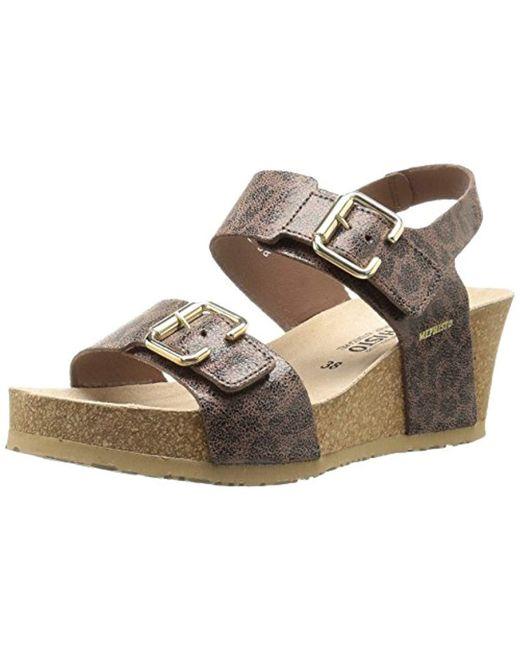 Mephisto - Brown Lissandra Platform Dress Sandal - Lyst