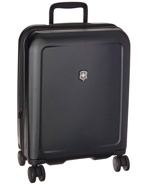 Victorinox Black Connex Global Hardside Carry-on With Usb Port