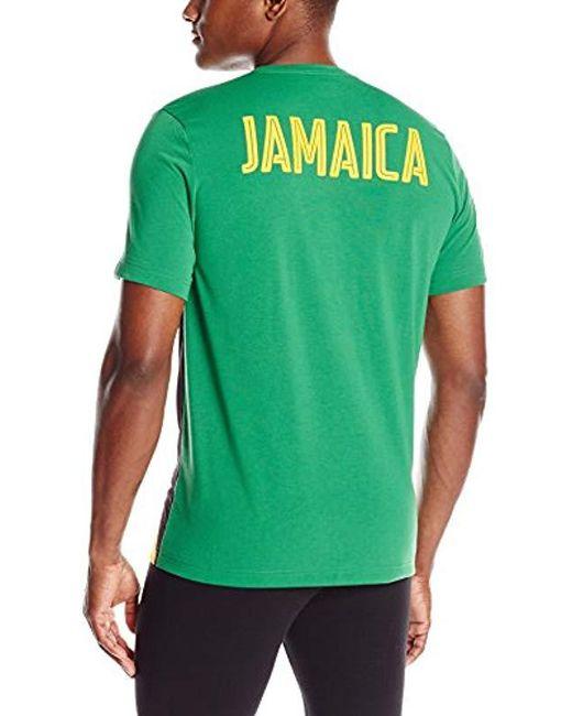 c1c37e7bb ... PUMA - Green Olympic Fan Wow Tee for Men - Lyst