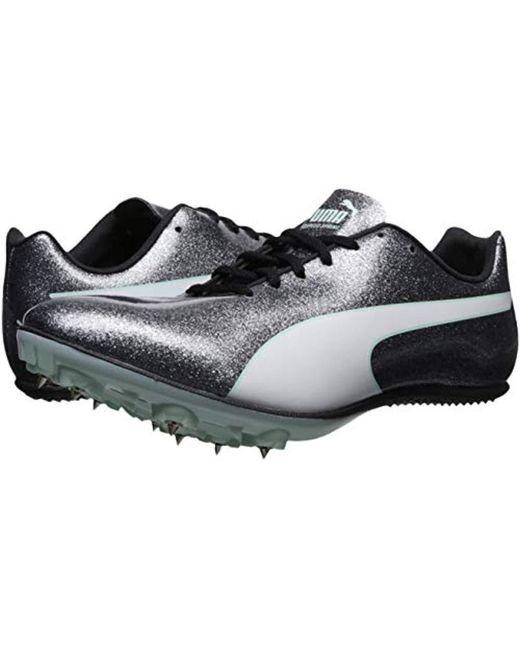 PUMA Synthetic Evospeed Sprint 9 Sneaker in Gray Lyst