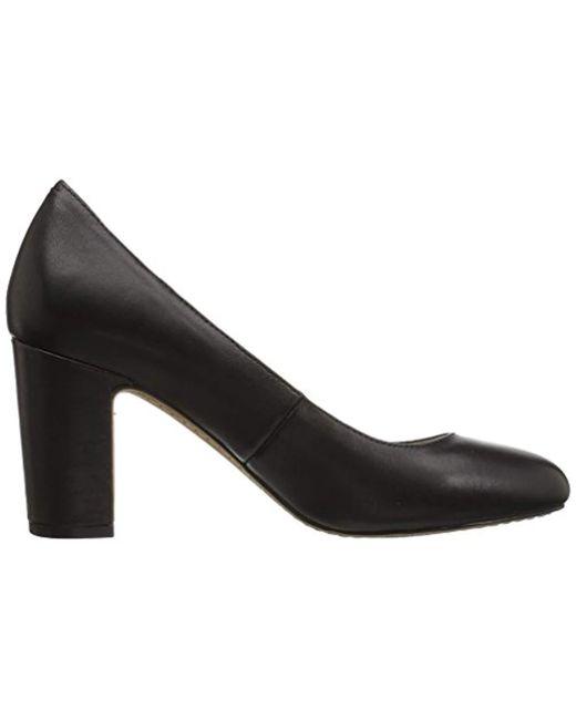 df44fd09aaada Women's Black Coyle Round Toe Block Heel Pump-high