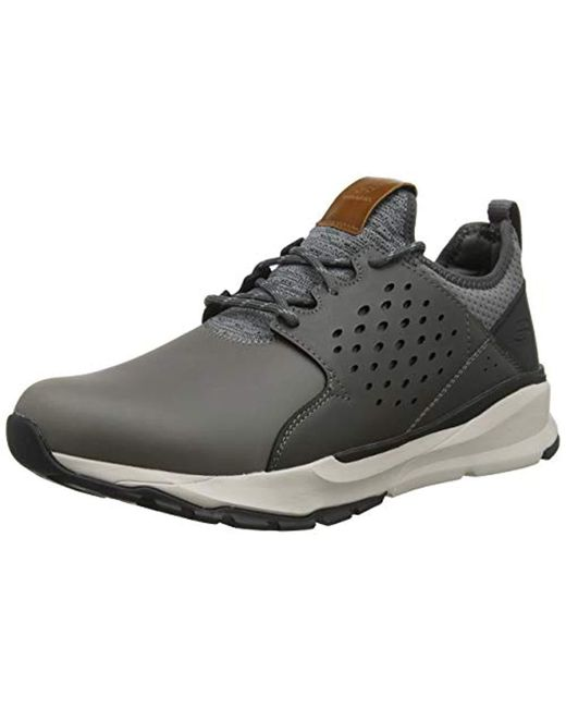 f2ef0bab5c47 Skechers - Gray Relven - Hemson 65732 Men s Shoes (trainers) In Grey for  Men ...