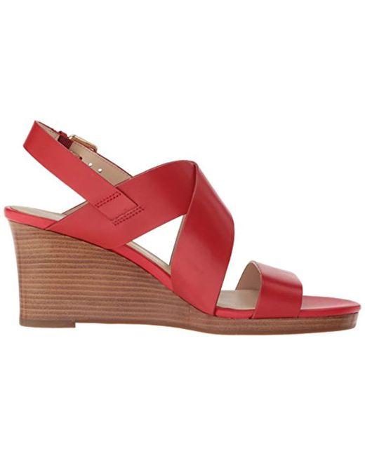 a5859334a0622 Women's Red Penelope Wedge Ii Sandal