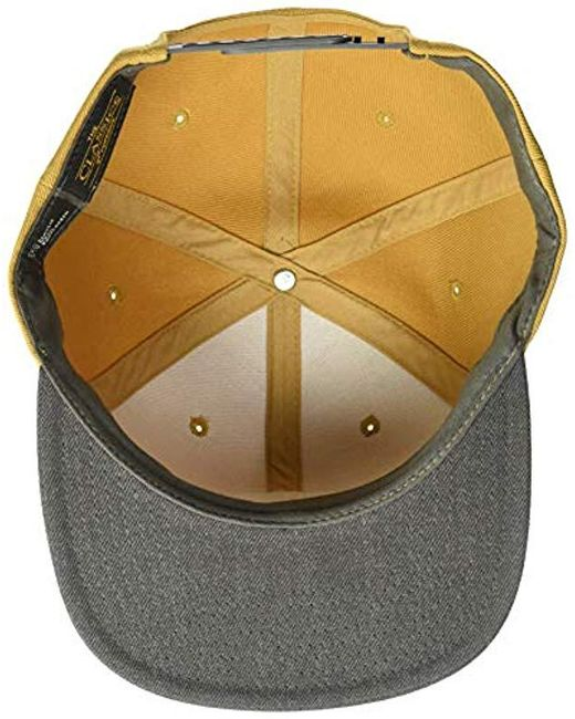 78187f5ea1c054 Rip Curl Valley Badge Snapback Hat in Yellow for Men - Save 58% - Lyst