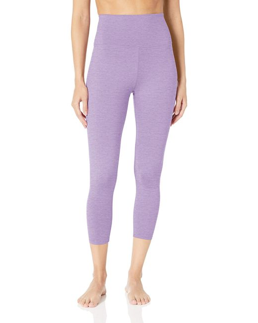 Core 10 Purple All Day Comfort High Waist 7/8 Crop Yoga Legging