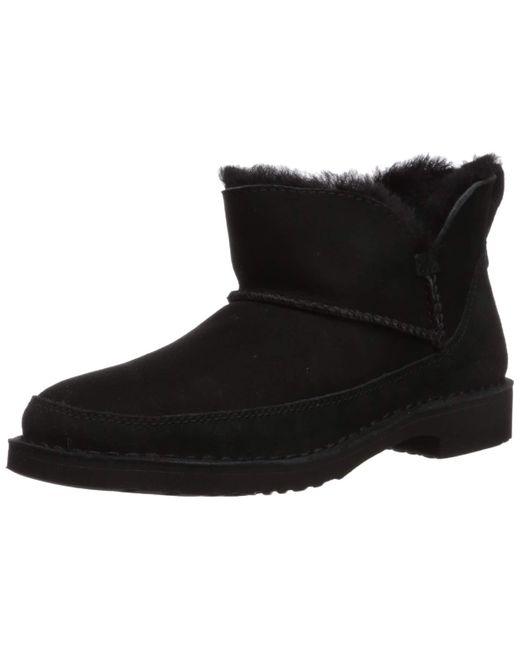 Ugg Black Melrose Ankle Boot