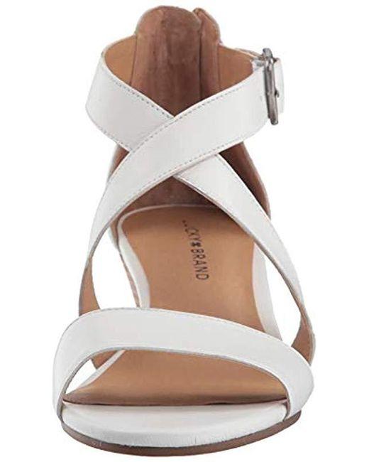 b3328f7e70f63 Women's White Jenley Sandal