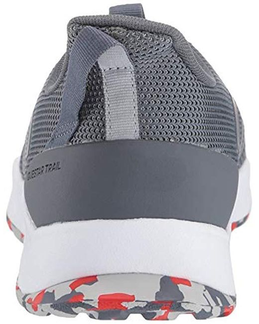 86d18ea7cbfec ... Adidas - Gray Questar Trail Running Shoe for Men - Lyst ...
