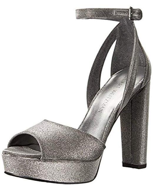 Stuart Weitzman Multicolor Hijinx Platform Sandal
